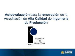 INGENIERIA DE PRODUCCIÓN