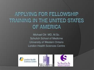 Applying for fellowship training in the United states of America