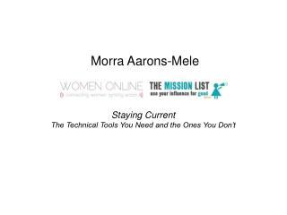 Morra Aarons-Mele