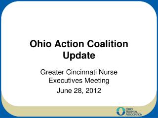 Ohio Action Coalition Update
