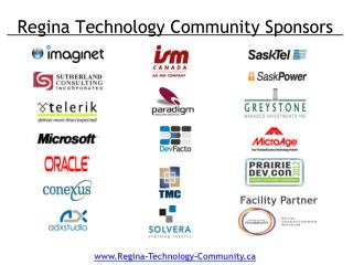 Regina Technology Community Sponsors