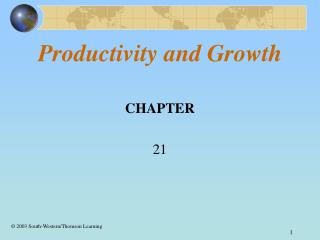 Productivity and Growth
