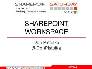 SharePoint Workspace