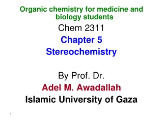 CHAPTER 5  Stereoisomers