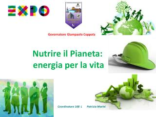 Nutrire il Pianeta:  energia per la vita
