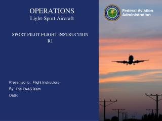 OPERATIONS Light-Sport Aircraft