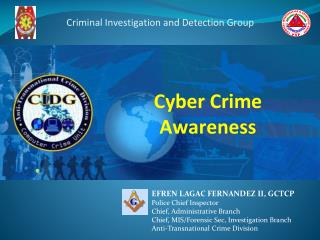 Cyber Crime  Awareness
