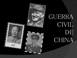 GUERRA  CIVIL  DE  CHINA