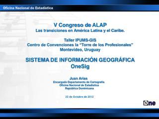 V  Congreso de  ALAP Las transiciones en América Latina y el Caribe . Taller  IPUMS -GIS