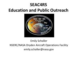 SEAC4RS  Education and Public Outreach