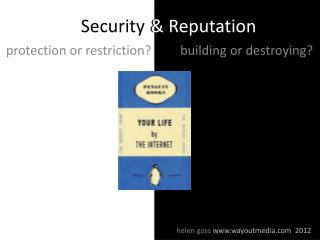 Security & Reputation