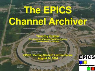 The EPICS Channel Archiver