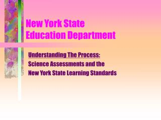 New York State  Education Department