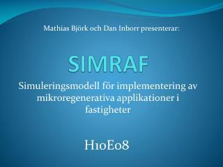 SIMRAF