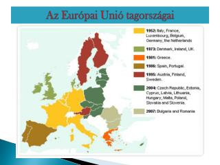 Az Európai Unió tagországai