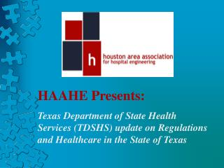HAAHE Presents :