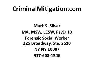 CriminalMitigation