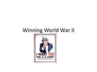 Winning World War II
