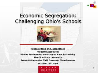 Economic Segregation: Challenging Ohio's Schools