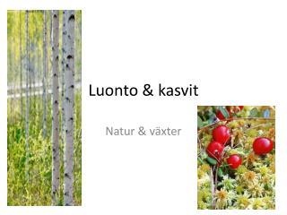 Luonto & kasvit