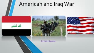 American and Iraq War