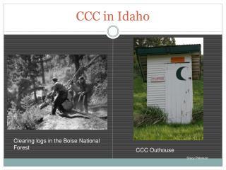 CCC in Idaho