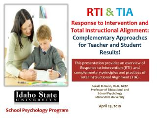 RTI & TIA