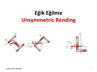 Eğik Eğilme Unsymmetric  Bending