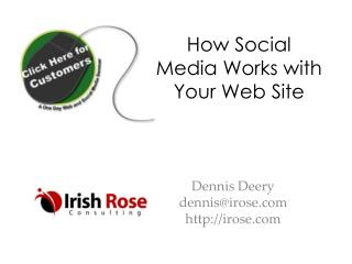 How Social Media Works with Your Web Site