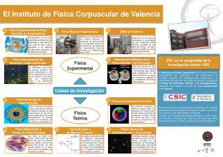El Instituto de Física Corpuscular de Valencia