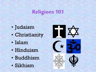 Religions 101