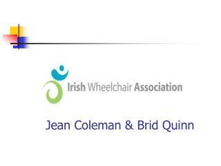 Jean Coleman & Brid Quinn