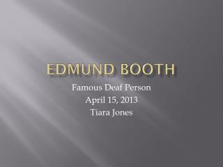 Edmund Booth