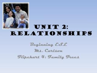 Unit 2: Relationships