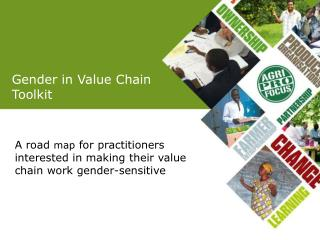 Gender in Value Chain  Toolkit