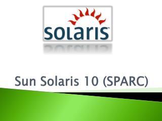 Sun Solaris 10 (SPARC)