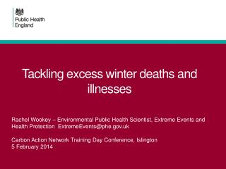 Tackling excess winter deaths and illnesses