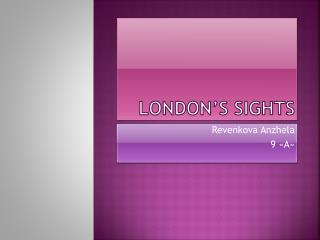 London's sights