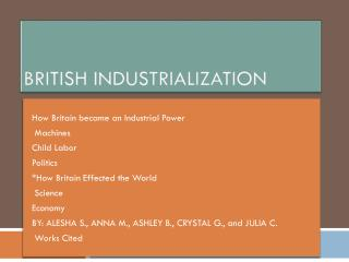 British Industrialization