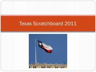 Texas Scratchboard 2011