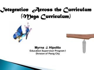 Integration  Across the Curriculum (Mega Curriculum)