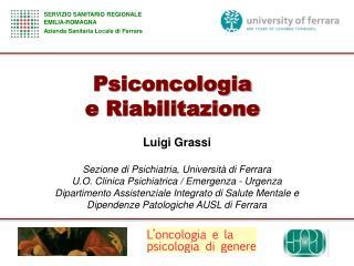 Psiconcologia e Riabilitazione