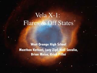 Vela X-1:  Flares  Off States