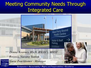 Meeting Community Needs Through Integrated Care