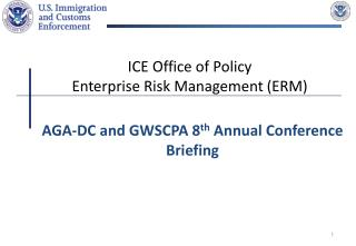 ICE Office of Policy Enterprise Risk Management ERM