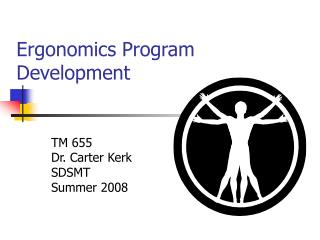 Ergonomics Program Development