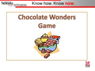 Chocolate Wonders Game