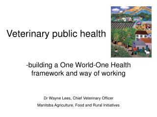Veterinary public health