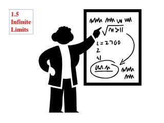 1.5 Infinite Limits