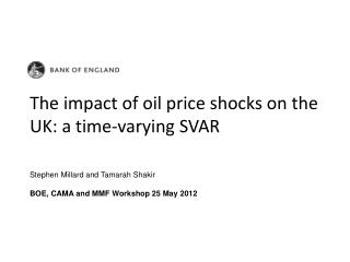 The impact of oil price shocks on the UK: a time-varying SVAR